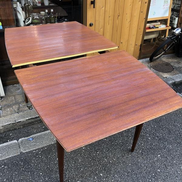 ダイニングテーブル の塗装
